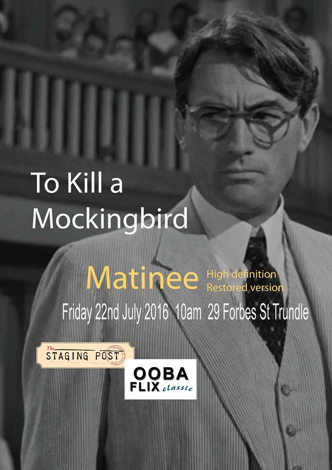 Matinee screening To Kill a Mockingbird